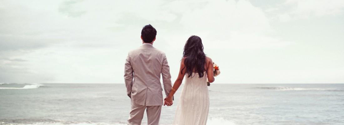 LOVE: SYLVIE x ROB by MAX WANGER  North Shore Hawaii Beach Wedding