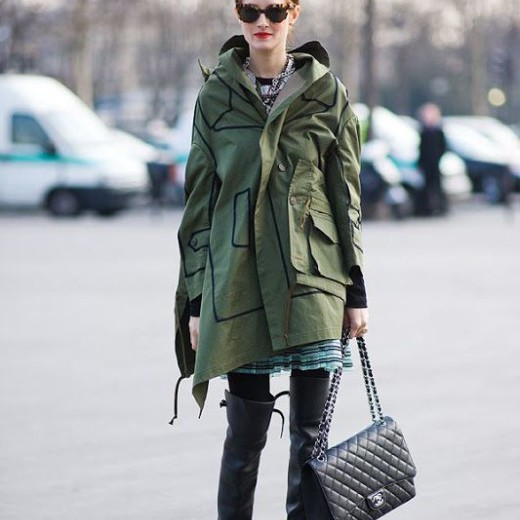 Sylvie in the Sky / Winter Style Guide / 8 Classic Coats It Girls Love / Taylor Thomasi Hill / The Military Parka