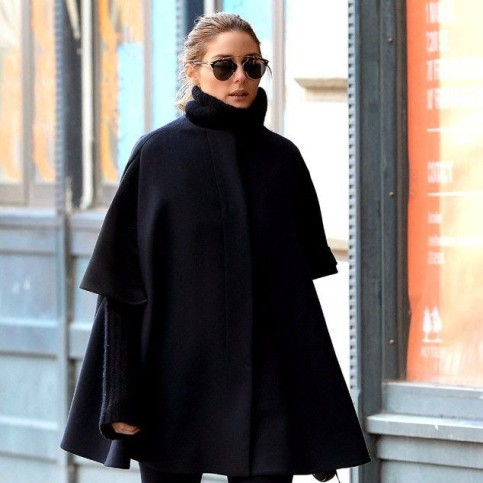 Sylvie in the Sky / Winter Style Guide / 8 Classic Coats It Girls Love / Olivia Palermo / The Swing Coat