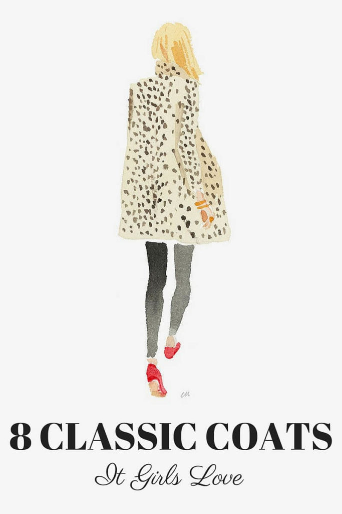 Sylvie in the Sky / Winter Style Guide / 8 CLASSIC COATS It Girls Love / Leopard Coat by Caitlin McGauley / Tiger Flower Studio | 8 CLASSIC WINTER COATS IT GIRLS LOVE featured by popular San Francisco fashion blogger, Sylvie in The Sky