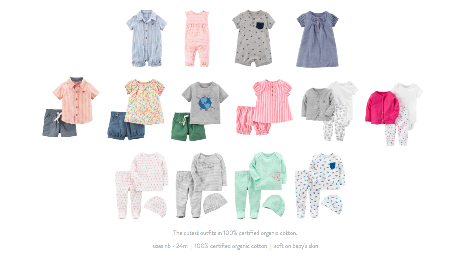 Shop Carter S Little Planet Organic Baby Clothing Collection