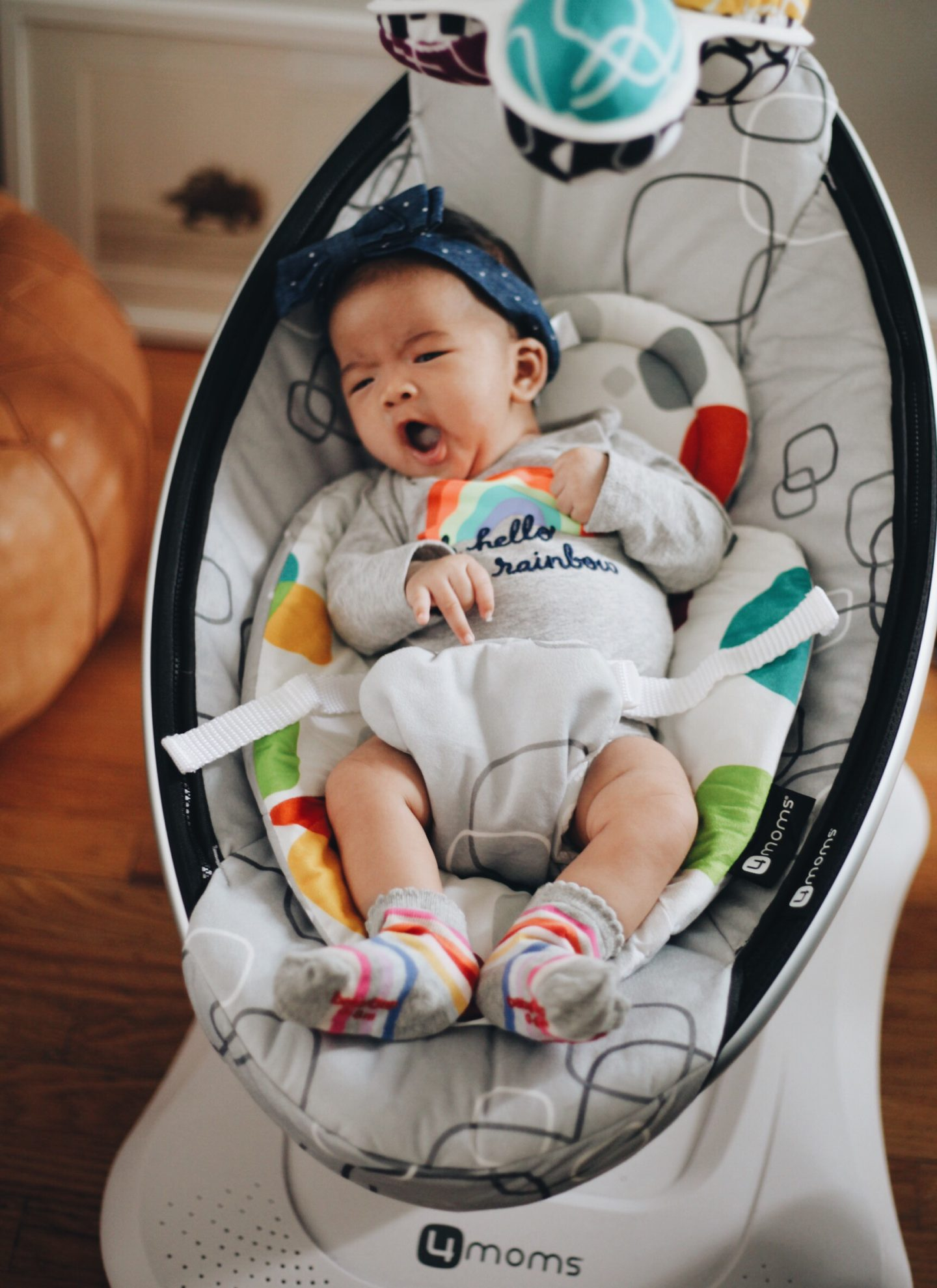 4moms Mamaroo Infant Swing Review Family Sylvie In The Sky